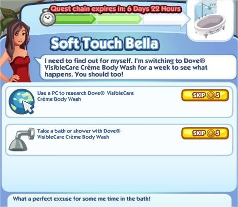 The Sims Social, Soft Touch Bella 2