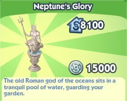 The Sims Social, Neptune's Glory