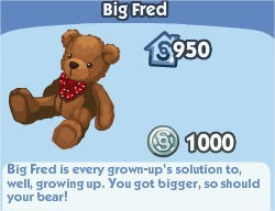 The Sims Social, Big Fred