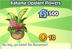The Sims Social, Bahama Opulant Flower
