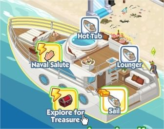 The Sims Social, Sealox Luxury Yacht