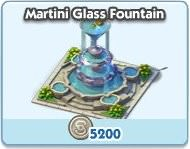 SimCity Social, Martini Glass Fountain