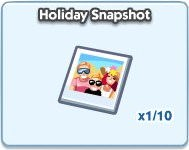 SimCity Social, Holiday Snapshot