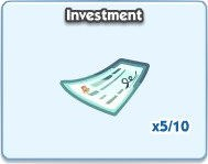 SimCity Social, Investment