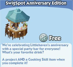 The Sims Social, SwiqSpot Anniversary Edition