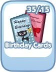 The Sims Social, Birthday Cards