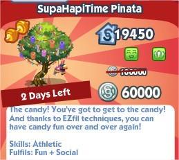 The Sims Social, SupaHapiTime Pinata
