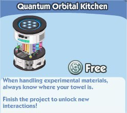 The Sims Social, Quantum Orbital Kitchen