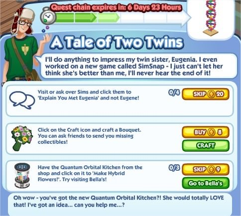 The Sims Social, A Tale of Two Twins 3