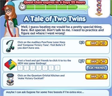 The Sims Social, A Tale of Two Twins 6