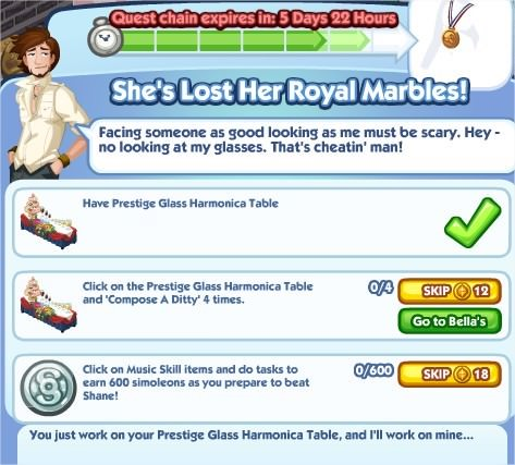 The Sims Social, She's Lost Her Royal Marbles! 6