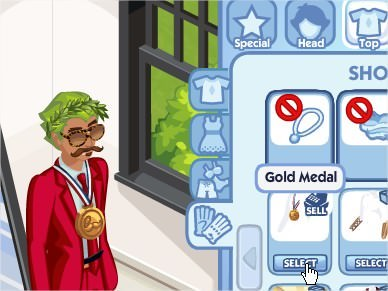 The Sims Social, Gold Medal