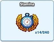 SimCity Social, Stamina