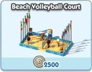 SimCity Social, Beach Volleyball Court