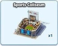 SimCity Social, Sports Coliseum