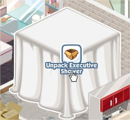 The Sims Social, Executive Shower
