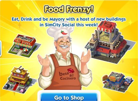 SimCity Social, Food Frenzy!