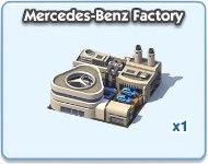SimCity Social, Mercedes-Benz Factory