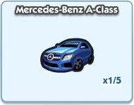 SimCity Social, Mercedes-Benz A-Class
