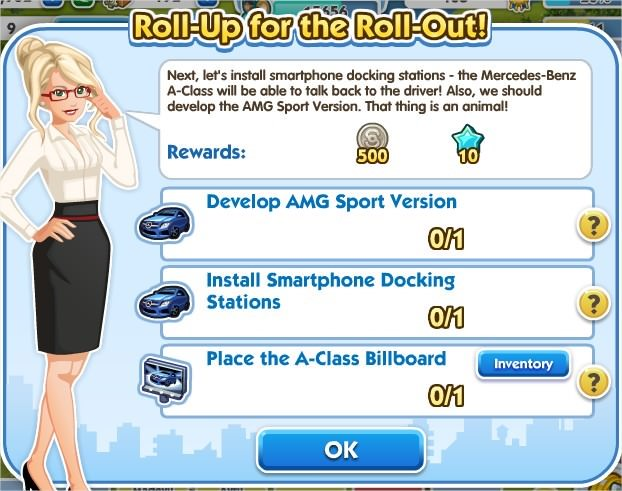 SimCity Social, Roll-Up for the Roll-Out!