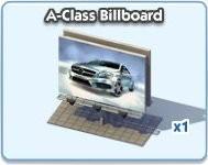 SimCity Social, A-Class Billboard
