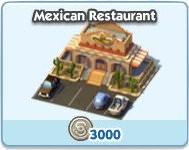 SimCity Social, Mexican Restaurant