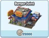 SimCity Social, Burger Joint