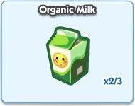 SimCity Social, Organic Milk