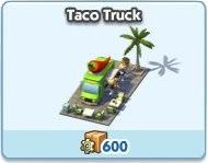 SimCity Social, Taco Truck