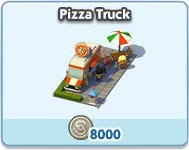 SimCity Social, Pizza Truck