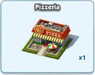 SimCity Social, Pizzeria