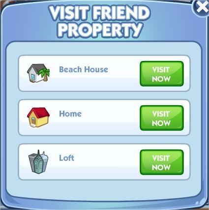 The Sims Social, City