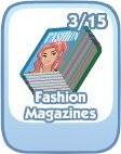 The Sims Social, Fashion Magazines