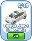 The Sims Social, Toyota Prius c Collectible