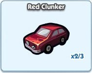 SimCity Social, Red Clunker
