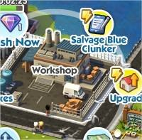 SimCity Social, Clunkin's Go Nuts
