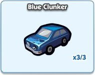 SimCity Social, Blue Clunker