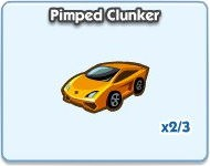 SimCity Social, Pimped Clunker