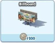 SimCity Social, Billboard