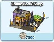 SimCity Social, Comic Book Store