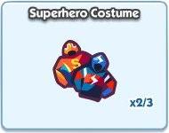 SimCity Social, Superhero Costume