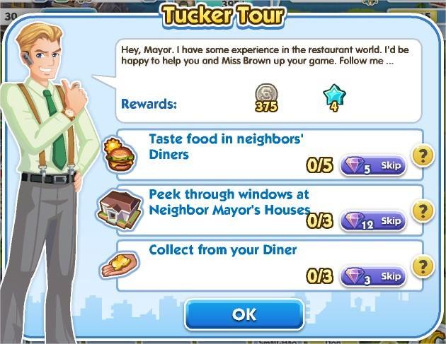 SimCity Social, Tucker Tour