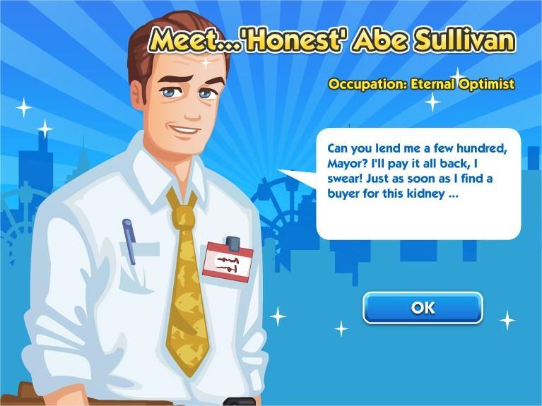 SimCity Social, Abe Sullivan