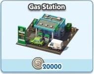 SimCity Social, Gas Station