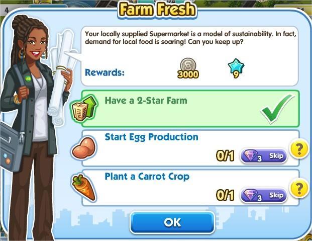 SimCity Social, Farm Fresh