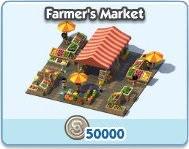SimCity Social, Farmer's Market