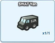 SimCity Social, SWAT Van