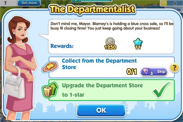 SimCity Social, The Departmentalist