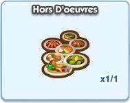 SimCity Social, Hors D'oeuvers