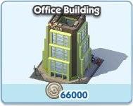 SimCity Social, Office Building